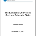 Report- The Kemper IGCC Project: Cost and Schedule Risks