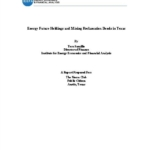 Report- Energy Future Holdings and Mining Reclamation Bonds in Texas