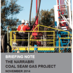 Briefing note: The Narrabri Coal Seam Gas Project