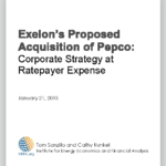 Corporate Strategy at D.C. Ratepayer Expense: Exelon's Proposed Acquisition of Pepco Holdings