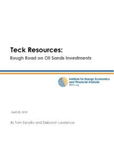 Teck Resources_Rough Road on Oil Sands Investments_April 2015_Page_01