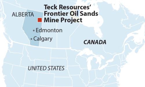 Teck Frontier oil sands mine
