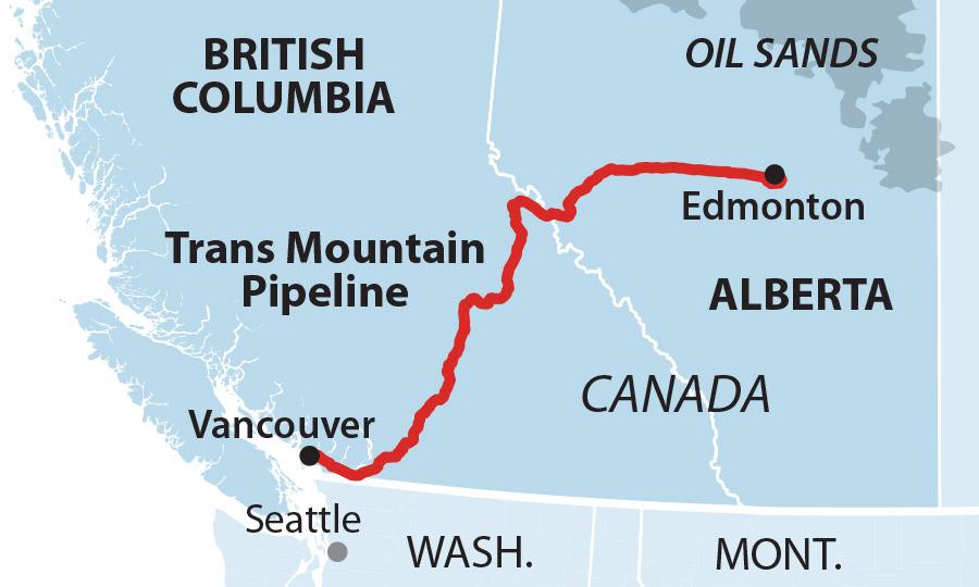 Trans Moundatin Pipeline