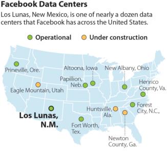 Facebook's Datacenter Boosts PNM Renewables