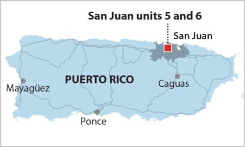 San Juan map