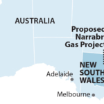 Australia Narrabri NSW map