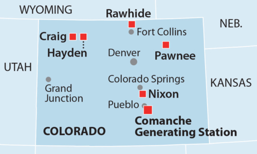 Comanche 3 Coal Plant Colorado