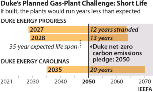 Duke's Planned Gas-Plant Challenge Short Life